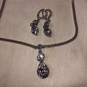 Givenchy necklace and earrings set